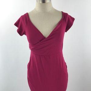 Pinkblush Dresses - PinkBlush Off Shoulder Maternity Maxi Dress